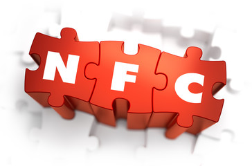 NFC - White Word on Red Puzzles.
