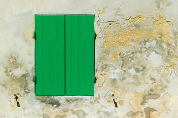 The Green Shutter