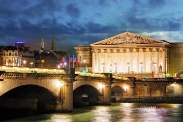 Palais Bourbon - French Parliament, Paris, Assemblee Nationale
