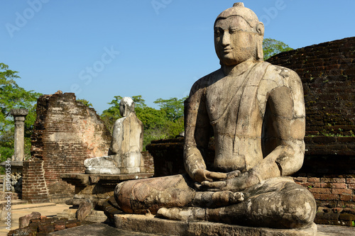 Leinwandbild Motiv Polonnaruwa ruin, Vatadage (Round House), Sri Lanka