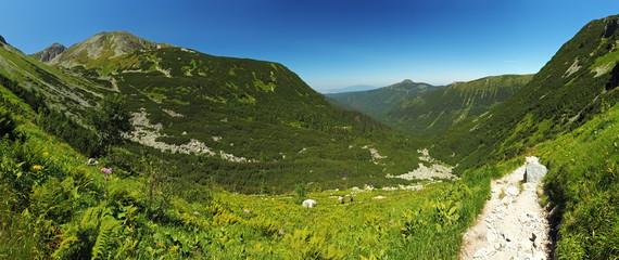 West Tatras - panorama