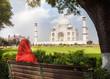 View to Taj Mahal