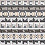 Seamless brown Greek texture