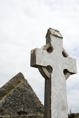 old celtic cross in kerry