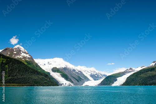 Fotobehang Gletsjers Alaska prince william sound Glacier View