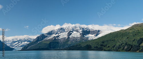 Foto op Canvas Gletsjers Alaska prince william sound Glacier View