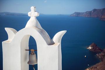 Greece, Santorini island, Oia village, White architecture