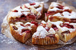 Strawberry and rhubarb cake - 81494597