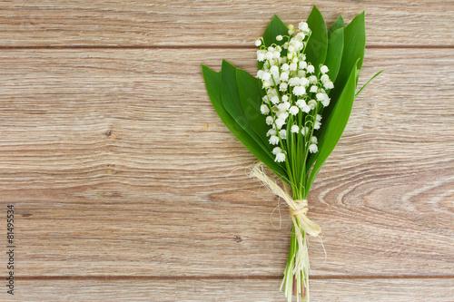 Foto op Aluminium Lelietje van dalen lilly of the valley posy