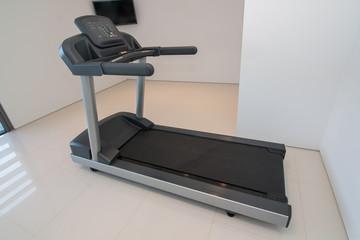 Treadmill closeup. For fitness.