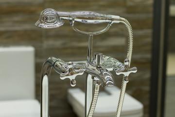 Chrome shower.
