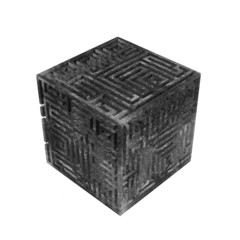 energe abstract cube