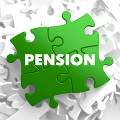 Pension on Green Puzzle.