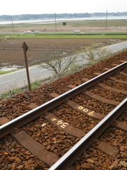 線路越しの風景