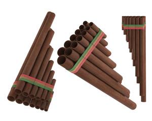 Peruvian pan flute Zampona