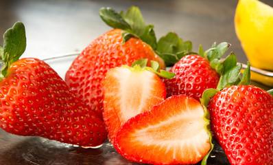 Erdbeeren Früchte zum verlieben