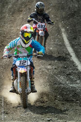 Poster Motorsport motocross junior