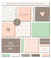 Romantic Wedding Paper Collection