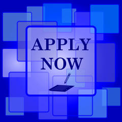 Apply now icon