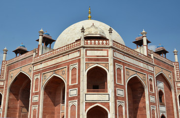 Humayun tomb. Great Mogul mausoleum, New Delhi, India