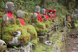 Japanese culture - jizo statues in Nikko