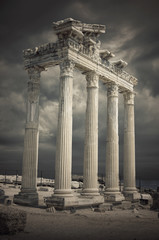 Apollon Temple,Antalya City ,Side