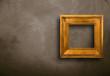 canvas print picture - cornice vuota appesa alla parete