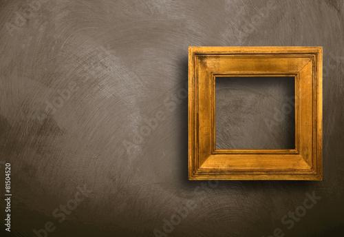 canvas print picture cornice vuota appesa alla parete
