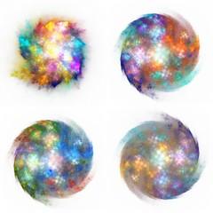 colorful burst