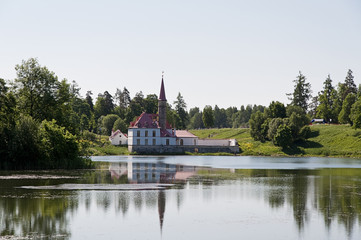 Maltese castle in Gatchina