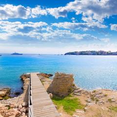 Majorca Platja Palmanova Punta Marroig in Calvia