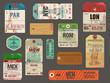 Vintage Baggage Tags - 81507340