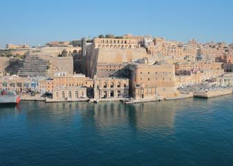 Ancient fortified city. Valletta, Malta