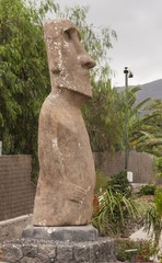 Моаи на Тенерифе