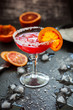 Leinwandbild Motiv Blood Orange Margarita