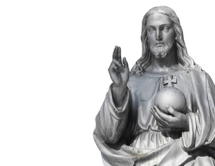 Jesus Christ the teacher (statue)