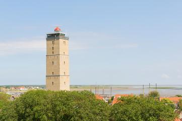 Lighthouse at Dutch Terschelling
