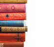 Stack of books on white background - 81509590