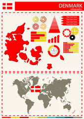 vector Denmark illustration country nation national culture conc