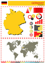 vector Germany illustration country nation national culture conc