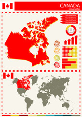 vector Canada illustration country nation national culture conce