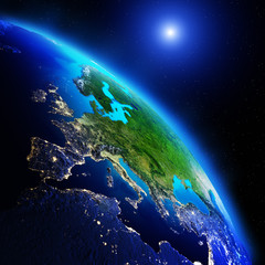 Earth continents