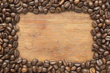 coffee frame wood