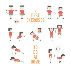 Vector sport and fitness infographics.