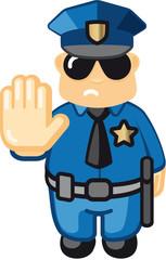 policeman stop