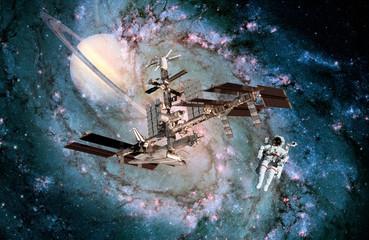 Astronaut Spaceship Space Spacecraft