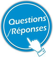 bouton questions réponses