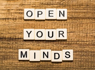 Mind. Open Your Mind Concept