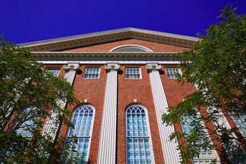 Harvard University in Cambridge Massachusetts