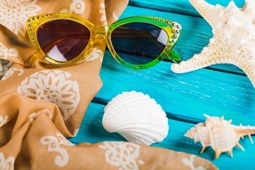 Summer. Summer - beach - decoration